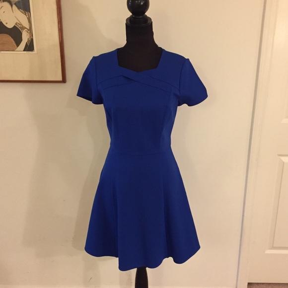 90798f47425b Halston Heritage Dresses | Ponte Fitandflare Dress 8 Nwt | Poshmark